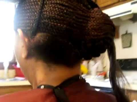 Swoop Close Cornrows Styles Created 2 Help N Hair Growth