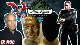 Gambar cover Epstein Update, UK Human Traffickers, Vantablack & The Superman Curse  - Podcast #90