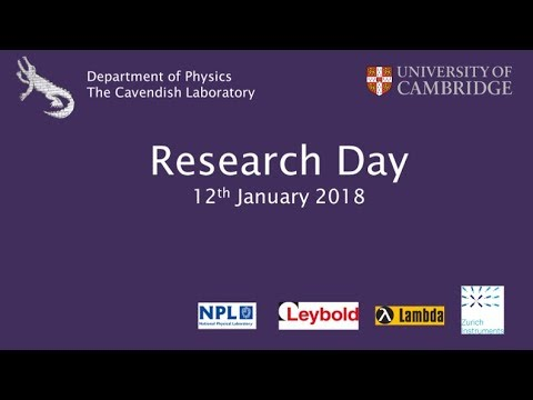 Cavendish Research Day 2018, Dr N. Nikiforakis, Computational MultiPhysics at the Cavendish