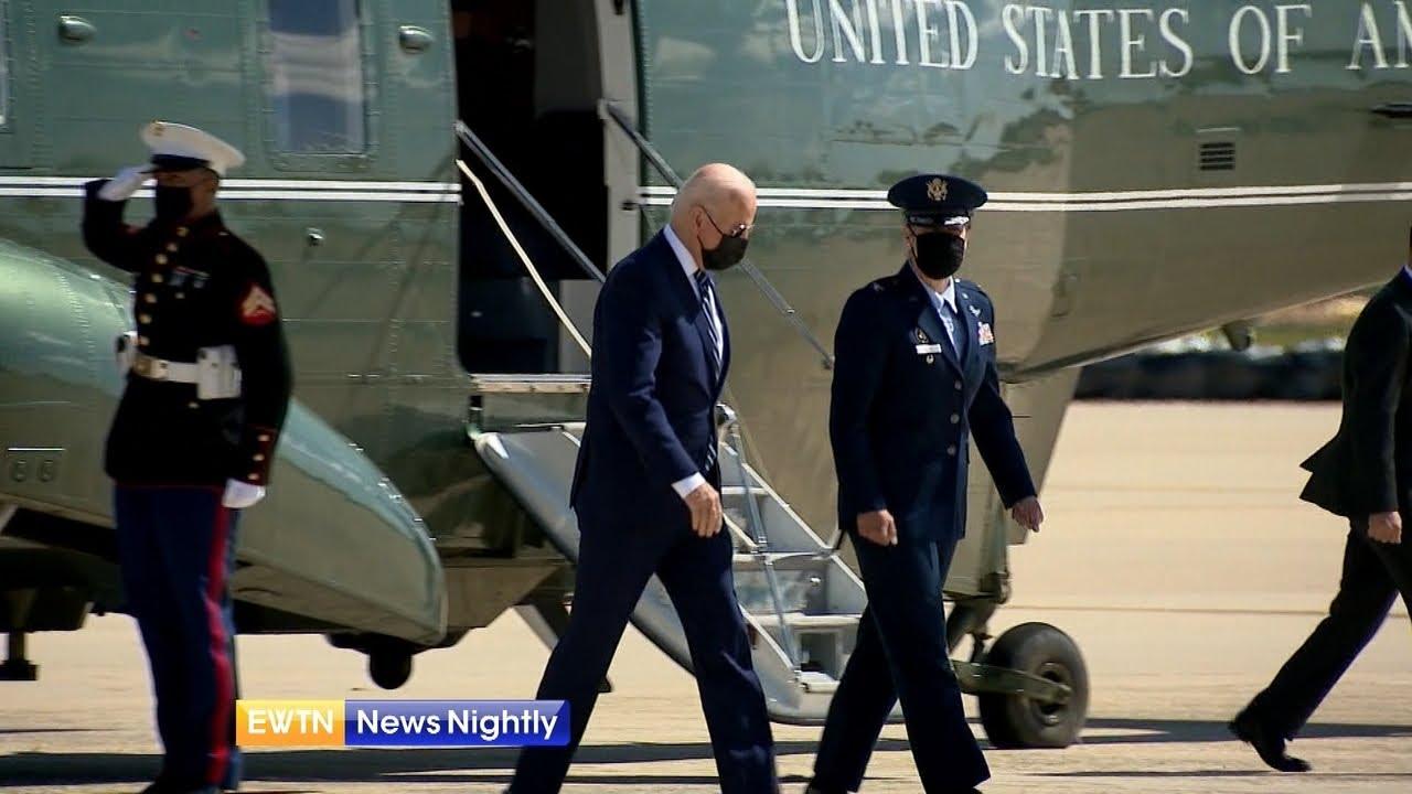 President Joe Biden Marks May 6th 'National Day of Prayer' | EWTN News Nightly