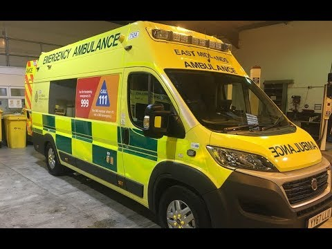 What Equipment Is Found In An EMAS Ambulance?