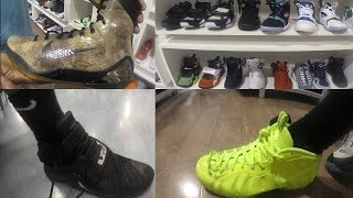 bought 2 pair of shoes new lebron james zoom 9 soldiers jordans retro s sneaker head ep 2