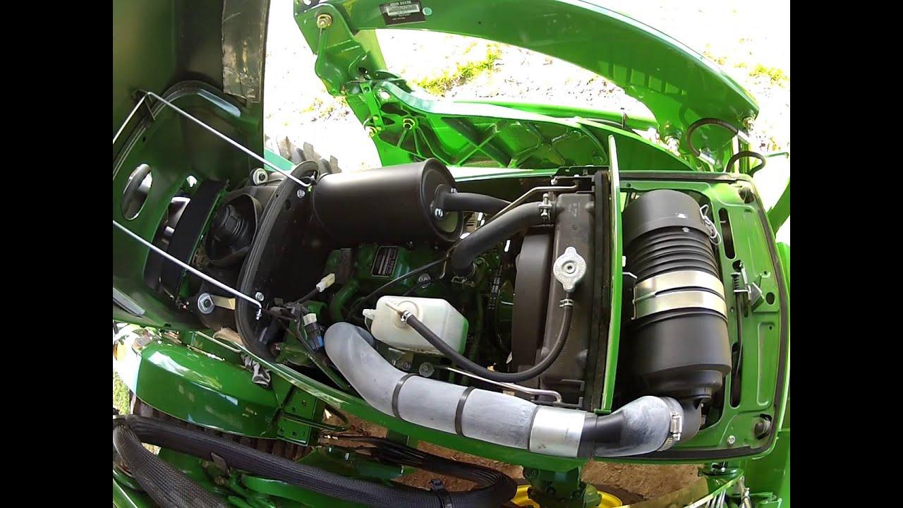 Diesel Engine Working >> John Deere 3005: Walkaround Review - YouTube