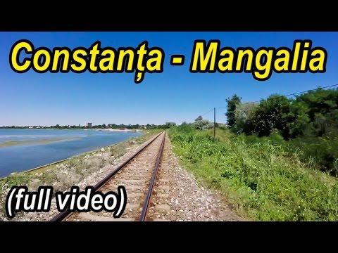 Constanta-Mangalia full rearview-Trainride-Zugfahrt
