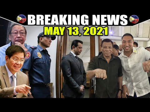 BREAKING NEWS MAY 13, 2021 PRES DUTERTE BINUTATA TRILLANES PING PACSON JOMA SISON MAYOR ZAMORA -  (2020)