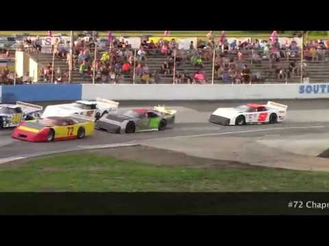 7 20 2019 South Bend Motor Speedway Outlaw Late Model Heat #1
