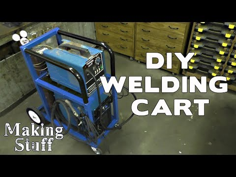 Making a DIY Welding Cart