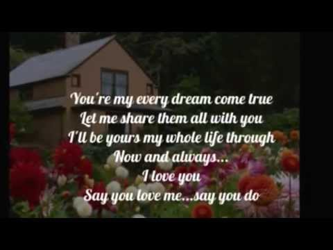 RICKY NELSON - SAY YOU LOVE ME