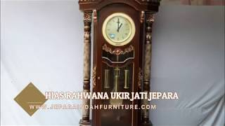 Jual Lemari Jam Hias Rahwana Ukir Jati Mewah By Jepara Indah Furniture