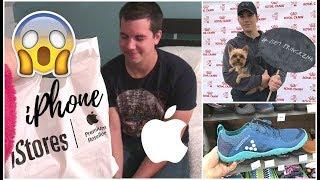 Nový iPhone a MacBook!! Nákupy v Praze - Testujeme Barefoot boty   Markéta Venená