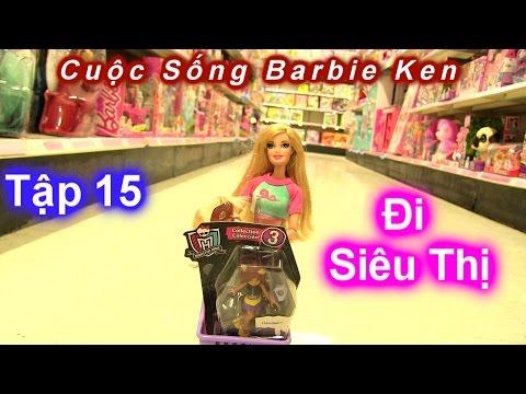 Phim Cuộc Sống Barbie Ken [ Mùa 2] Tập 15 Cả Nhà Barbie Đi Siêu Thị Đồ Chơi | Chị Bí Đỏ