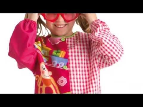 Babis y batas escolares youtube - Batas de casa para ninos ...