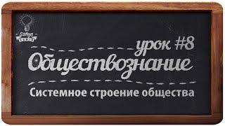 Обществознание. ЕГЭ. Урок №8.
