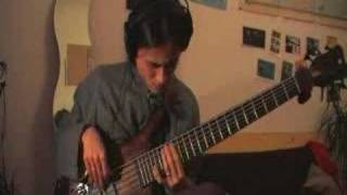6-String Bass blues solo