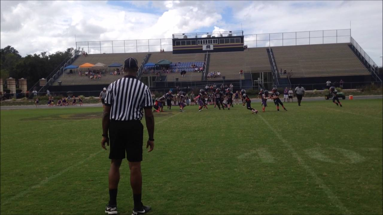 Lake Brantley Patriots vs Winter Springs Bears Jr Pee Wee
