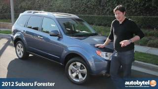 2012 Subaru Forester XT Test Drive & Crossover SUV Review