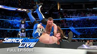 WWE SmackDown LIVE Full Episode, 23 January 2018