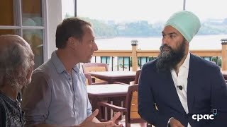 Jagmeet Singh makes climate change announcement in Gatineau, Quebec