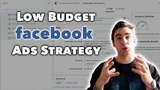 Low Budget FaceBook Ads Strategy For Shopify Dropshipping In 2019