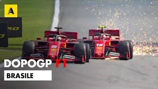 F1, GP Brasile 2019: vince Verstappen. Disastro Ferrari: Vettel-Leclerc, contatto e ritiro | DopoGP