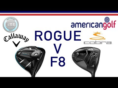 Callaway Rogue Sub-Zero V Cobra F8+   Head To Head   American Golf