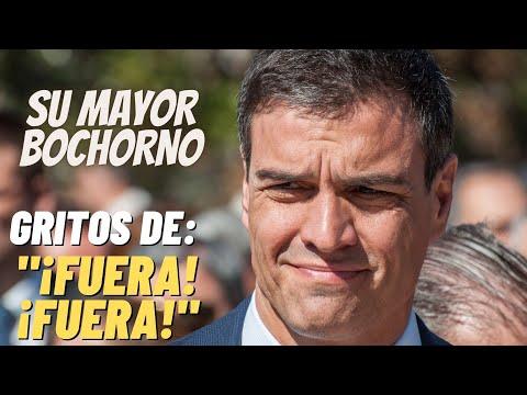 TREMENDO ABUCHEO a Pedro SÁNCHEZ al ir a VOTAR en las Elecciones de MADRID ¡¡NO LE DEJAN NI HABLAR!!