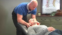 Chiropractic Knee and Spinal Adjustment on a CrossFit Competitor (Male Doctor, Male Patient)