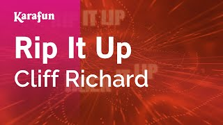 Karaoke Rip It Up - Cliff Richard *