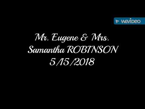 Mr. And Mrs. ROBINSON