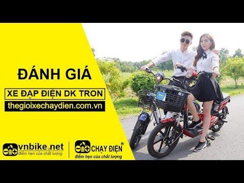 Đánh giá xe đạp điện Dk Tron