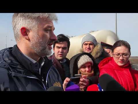 Керчь: Евгений Дитрих принял участие в открытии стационарных пунктов ГИБДД на Крымском мосту