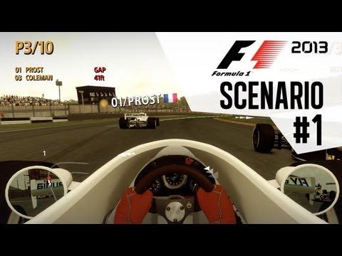 F1 2013 Classic Scenario mode - Part 1 Ahead of the Pack - 1980's William