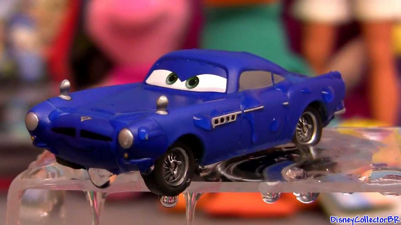 Cars Color Changers: Cars Color Changers Finn McMissile Changing Colour Blue To