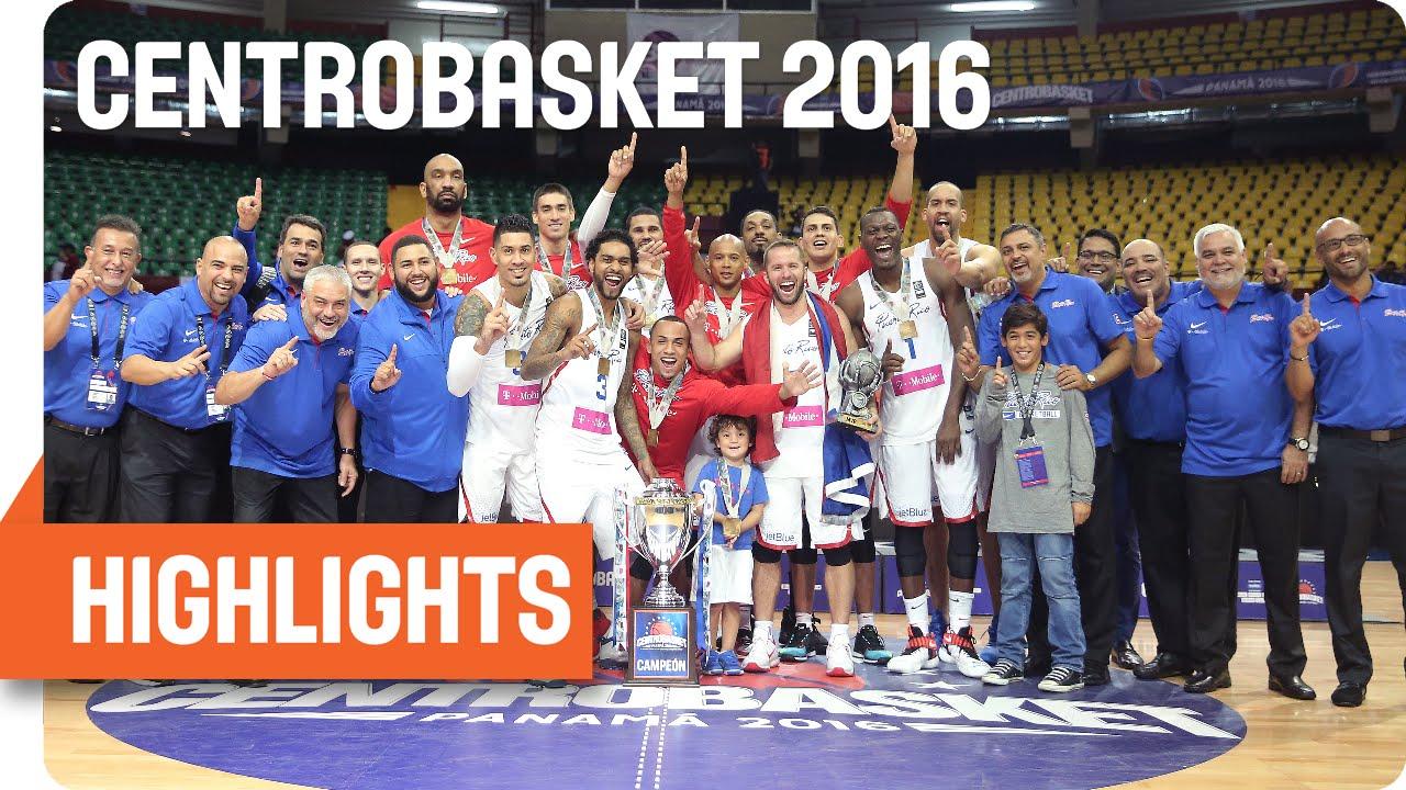 Mexico (MEX) v Puerto Rico (PUR) Game Highlights - Gold Medal - 2016 FIBA Centrobasket Championship