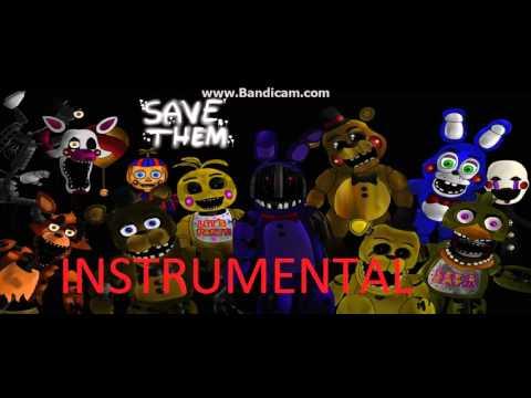 Behind The Mask / INSTRUMENTAL / FNAF 2 Song
