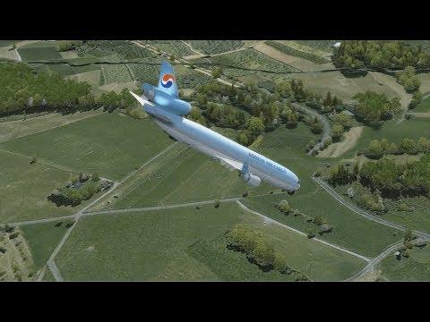 P3D - Meters Or Feet? (Korean Air Cargo Flight 6316)