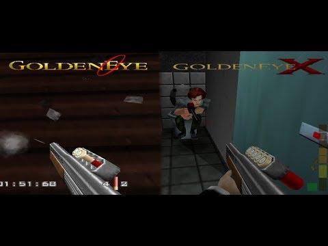 GoldenEye 007 vs GoldenEyeX v5.5 beta (Weapon Comparison)