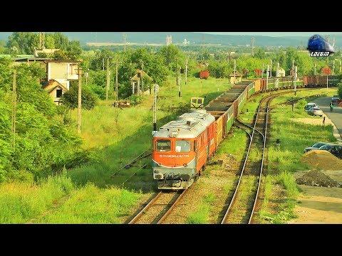LDE2100 60-1593-2 \u0026 60-0412-6 \u0026 Marfar Transferoviar Grup Freight Train in Oradea - 01 August 2019