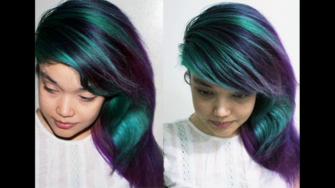 Learn About Permanent Teal Hair Dye- Available Places - YouTube