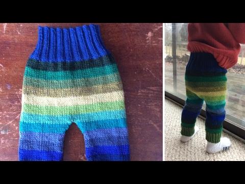 Todlder Knit Wool Pants