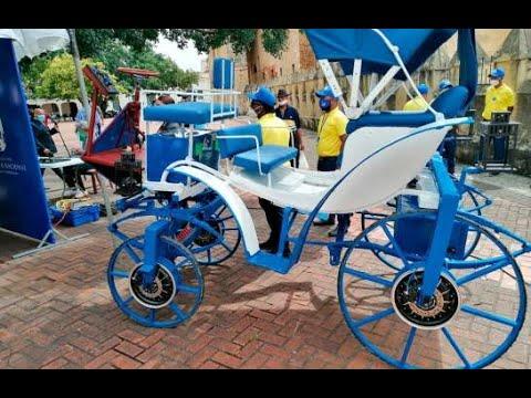 Así funcionan los coches eléctricos que operarán en la Ciudad Colonial