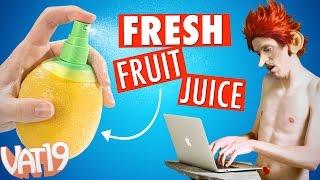 Turn Citrus Fruit into A Sprayer!