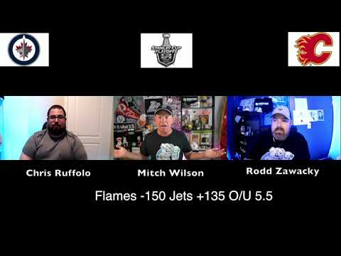 Calgary Flames vs Winnipeg Jets 8/3/20 NHL Pick and Prediction Stanley Cup Playoffs