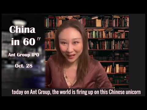 #Chinain60 Deep dive into the biggest IPO ever, Ant Group's listing — October 28, 2020