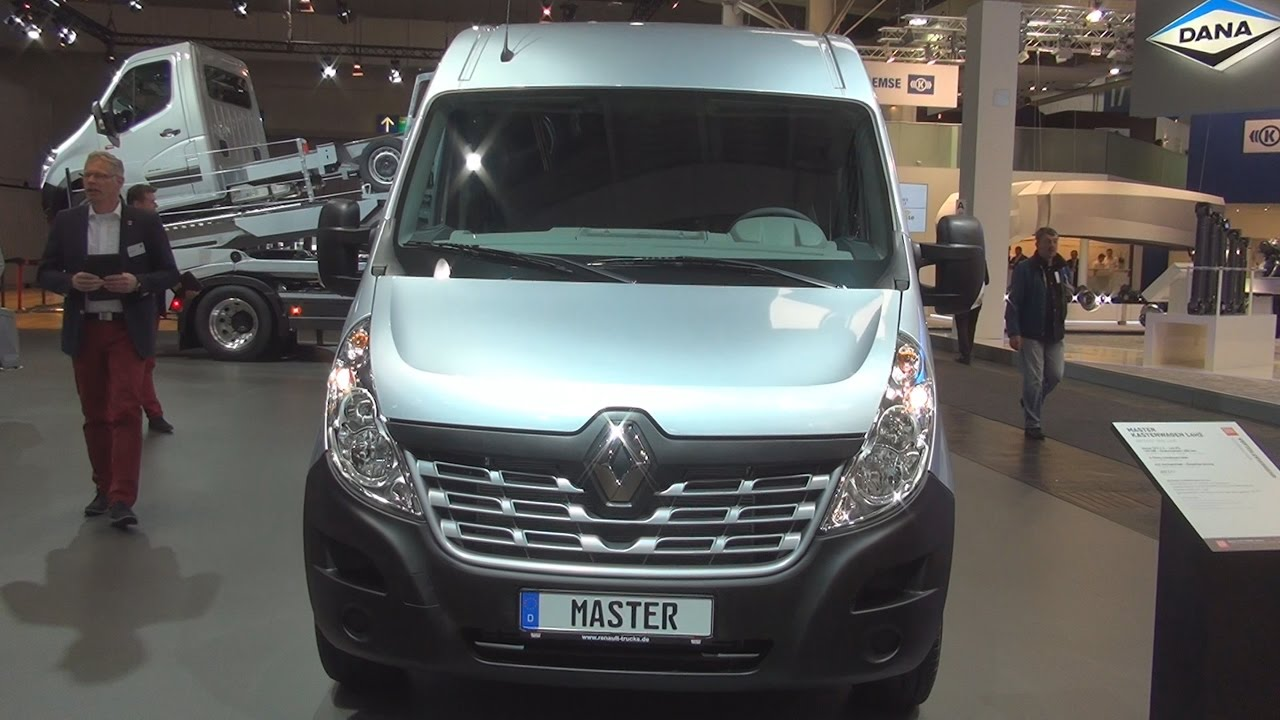 renault master dci 2 3 165 l4h2 panel van 2017 exterior and interior in 3d youtube. Black Bedroom Furniture Sets. Home Design Ideas