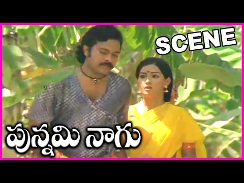 Punnami Naagu  Super Hit Scene - Chiranjeevi, Menaka