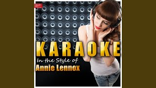 Love Song for a Vampire (In the Style of Annie Lennox) (Karaoke Version)