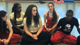 High School Indian dance program