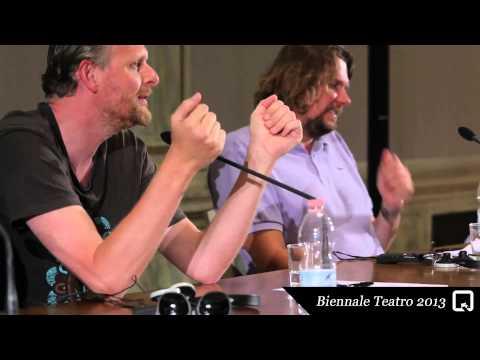Biennale Teatro 2013 - Thomas Ostermeier, Florian Borchmeyer (incontri/meetings)