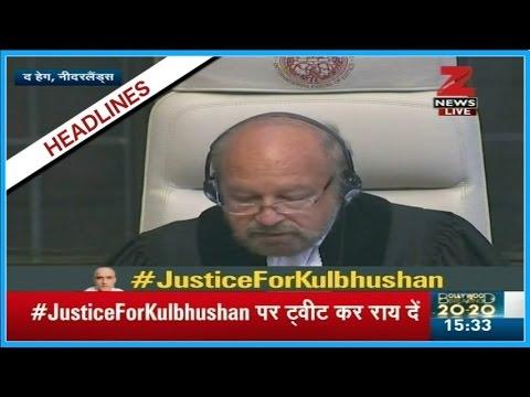 Watch LIVE - ICJ verdict on Kulbhushan Jadhav's case